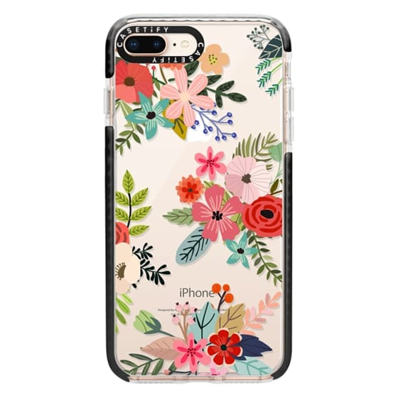 iPhone 8 Plus Cases - Floral Collage