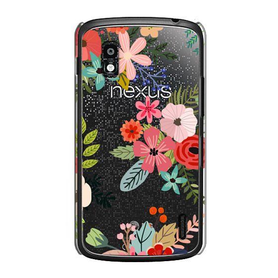 Nexus 4 Cases - Floral Collage