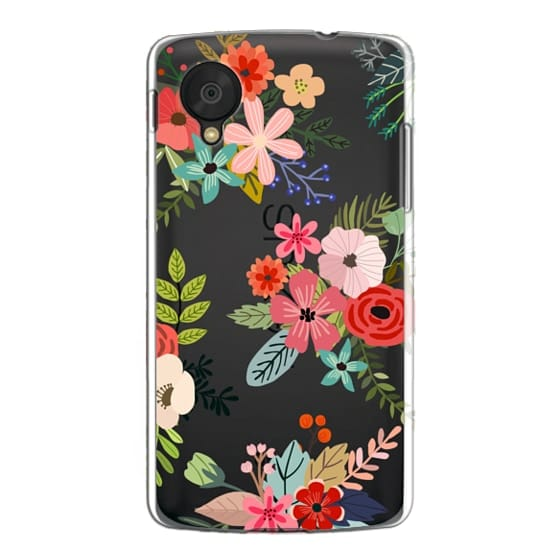 Nexus 5 Cases - Floral Collage