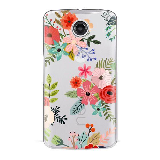 Nexus 6 Cases - Floral Collage