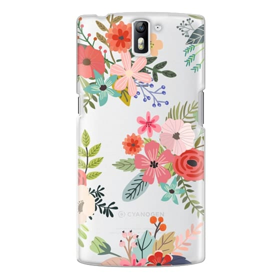 One Plus One Cases - Floral Collage