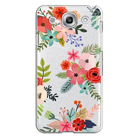 Optimus G Pro Cases - Floral Collage