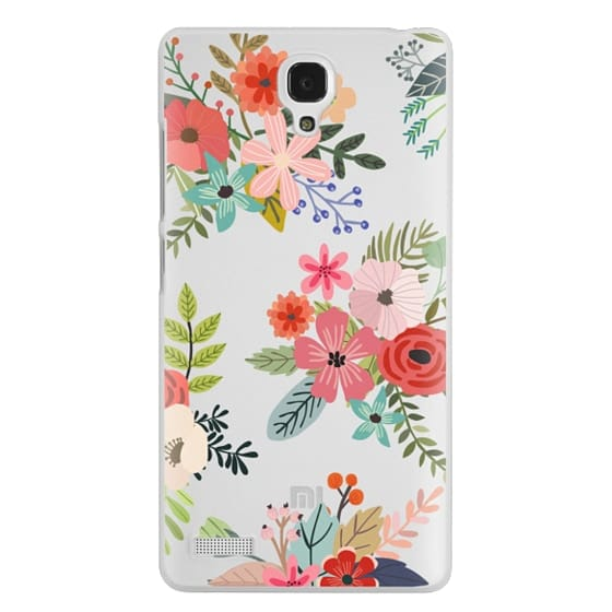 Redmi Note Cases - Floral Collage