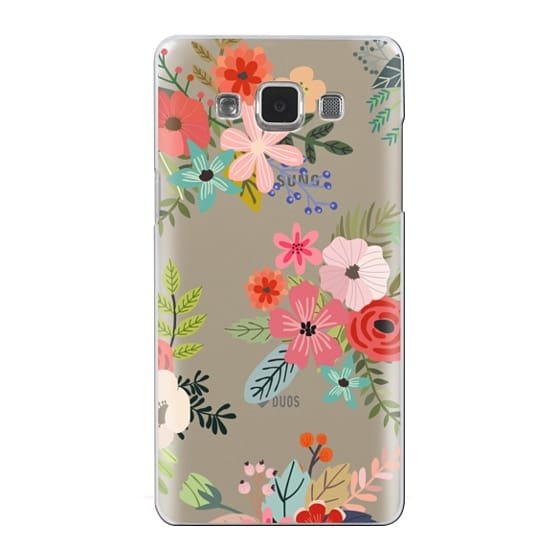 Samsung Galaxy A5 Cases - Floral Collage
