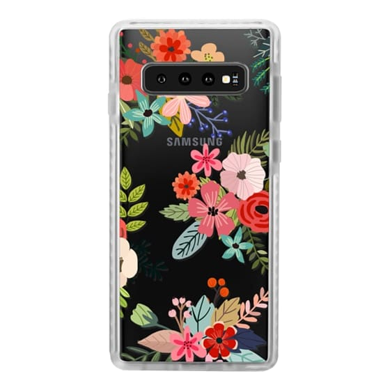Samsung Galaxy S10 Cases - Floral Collage