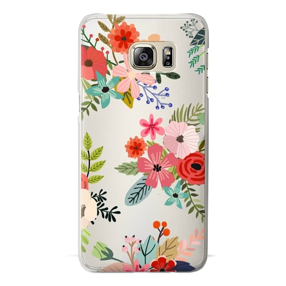 Samsung Galaxy S6 Edge Plus Cases - Floral Collage
