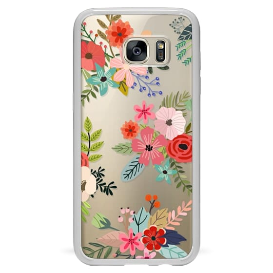 Samsung Galaxy S7 Edge Cases - Floral Collage