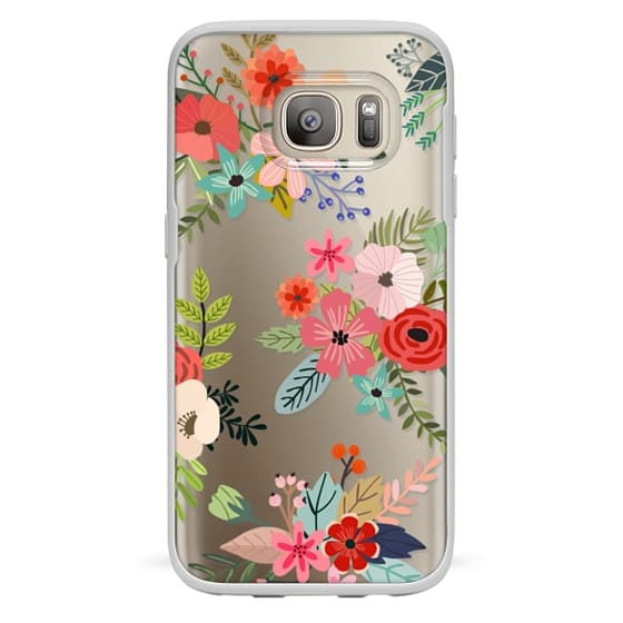Samsung Galaxy S7 Cases - Floral Collage