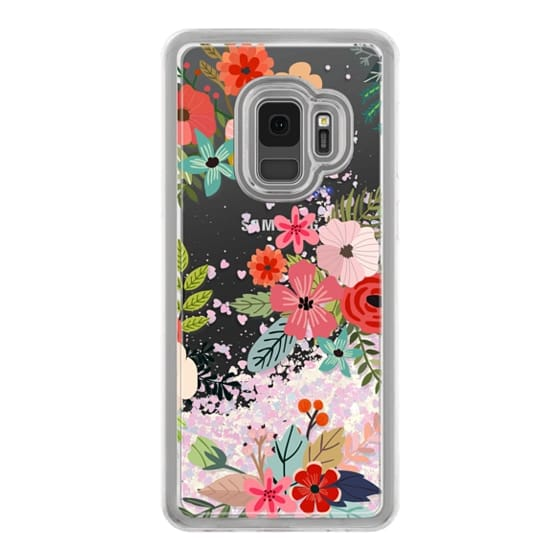 Samsung Galaxy S9 Cases - Floral Collage