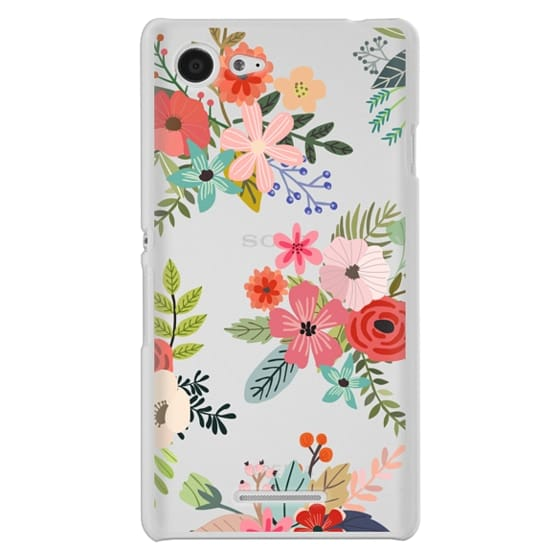 Sony E3 Cases - Floral Collage
