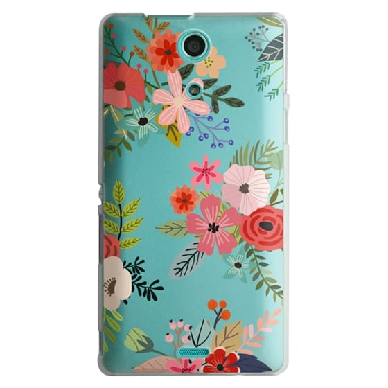 Sony Zr Cases - Floral Collage