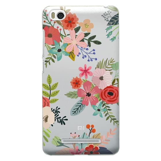 Xiaomi 4i Cases - Floral Collage