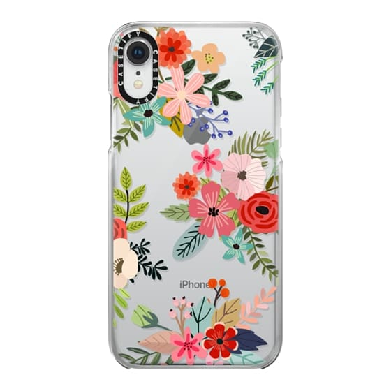 iPhone XR Cases - Floral Collage