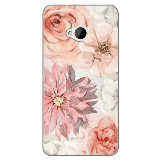 Htc One Cases - Pretty Blush