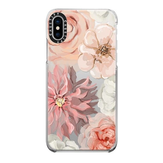 iPhone X Cases - Pretty Blush