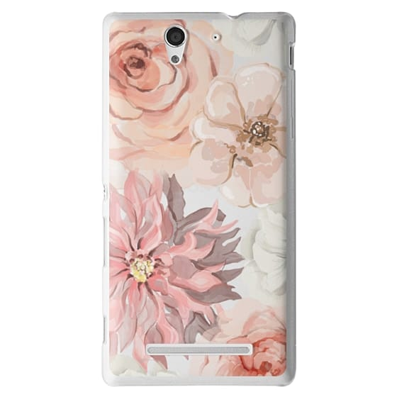 Sony C3 Cases - Pretty Blush