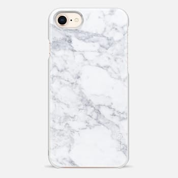 iPhone 8 Case Marble white