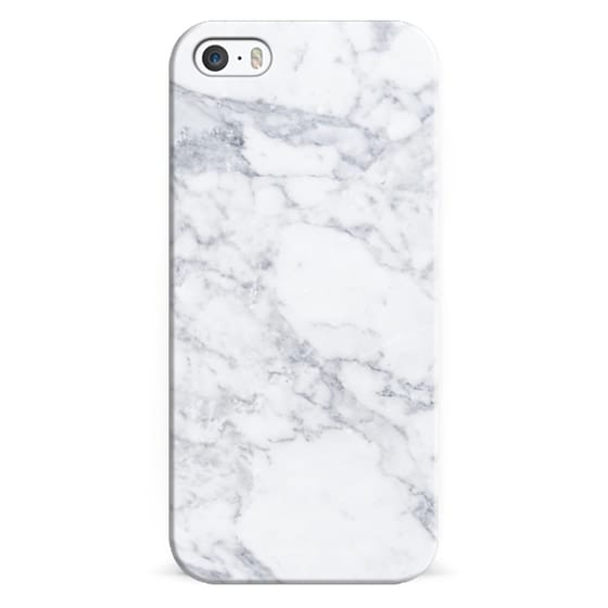 iPhone 5s Cases - Marble white