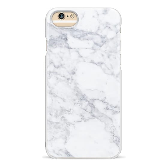 iPhone 6 Cases - Marble white