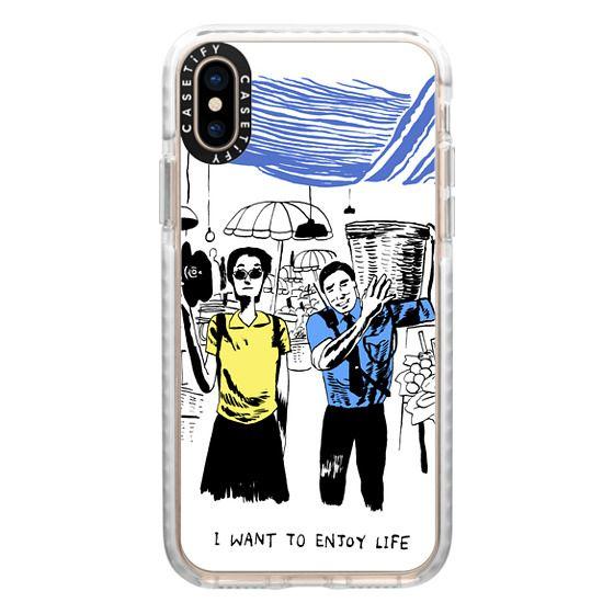iPhone XS Cases - Hong Kong Movie - Chungking Express