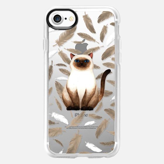 Siam Cat - Wallet Case