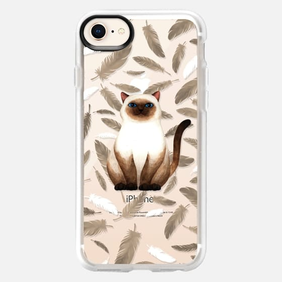 Siam Cat - Snap Case