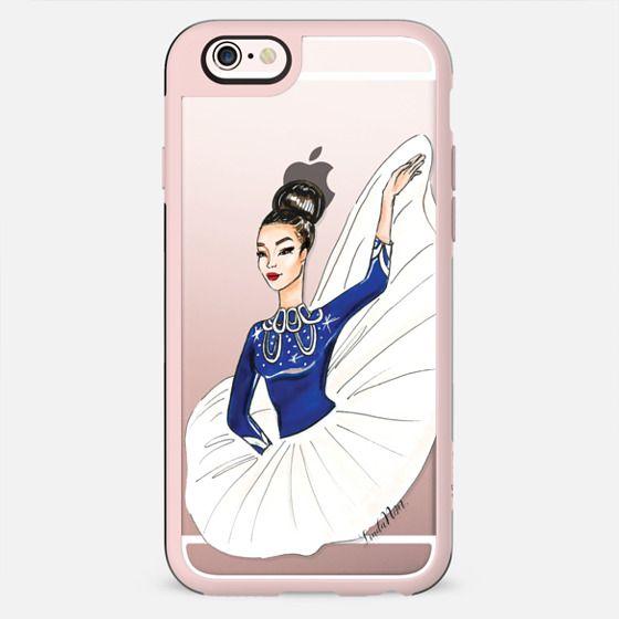 Flying dancer - iPhone (Transparent case) - New Standard Case