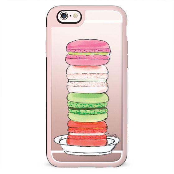 Macarons for Christmas - holiday - transparent case