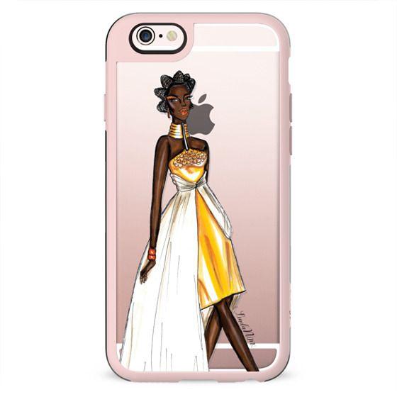 My African Ballerina (Fashion-Transparent Case)