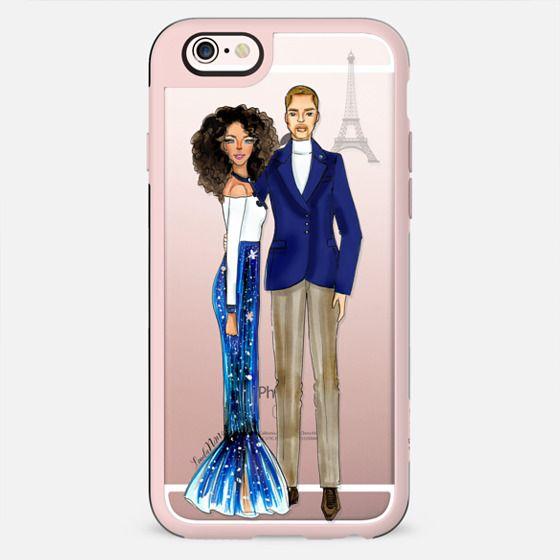 Paris in Love - Iphone transparent case