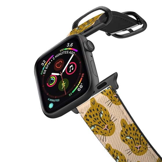 Apple Watch 38mm Bands - PINK LEOPARDS BY BODIL JANE