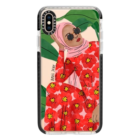 iPhone XS Max Cases - Ruba by Bodil Jane