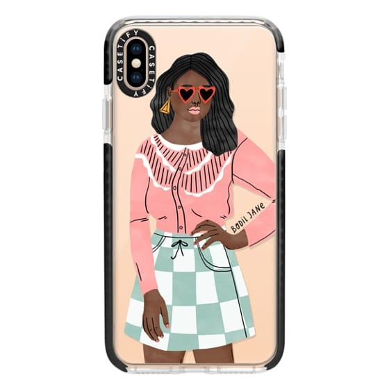 iPhone XS Max Cases - Becky by Bodil Jane
