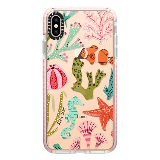 iPhone XS Max Cases - AQUATIC LIFE BY BODIL JANE