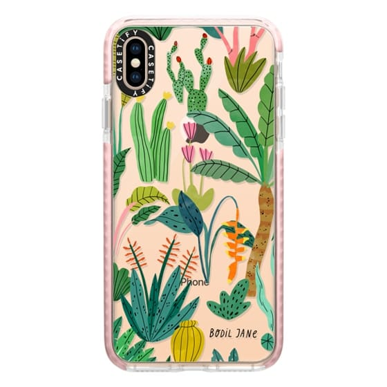 iPhone XS Max Cases - PARADISE PLANTS BY BODIL JANE