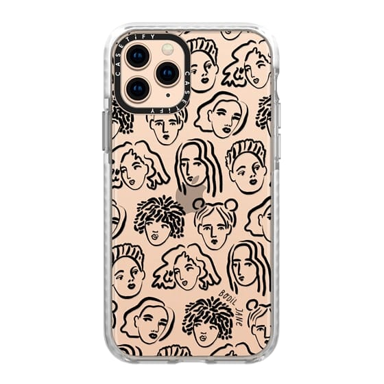iPhone 11 Pro Cases - BLACK PORTRAITS BY BODIL JANE