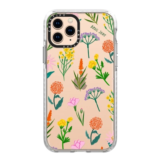 iPhone 11 Pro Cases - FLOWERS BY BODIL JANE