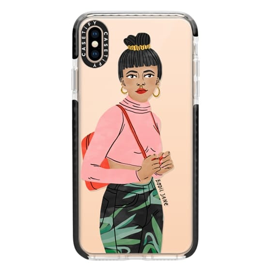 iPhone XS Max Cases - Lotus by Bodil Jane