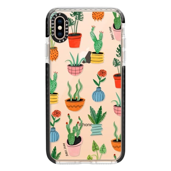iPhone XS Max Cases - Botanicals by Bodil Jane