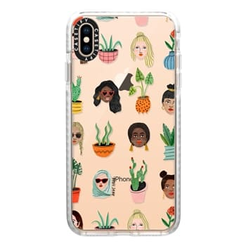 05159b0d4 Impact iPhone XS Max Case Case - Babes & Botanicals by Bodil Jane