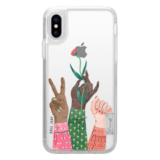 iPhone X Cases - HANDS BY BODIL JANE