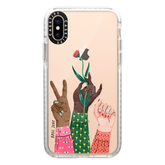 iPhone XS Cases - HANDS BY BODIL JANE