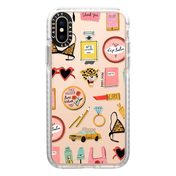 iPhone XS Cases - BEAUTY ESSENTIALS BY BODIL JANE