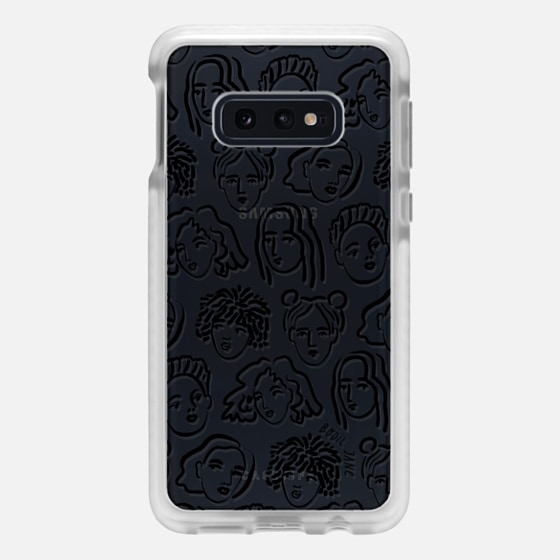 Samsung Galaxy / LG / HTC / Nexus Phone Case - BLACK PORTRAITS BY BODIL JANE