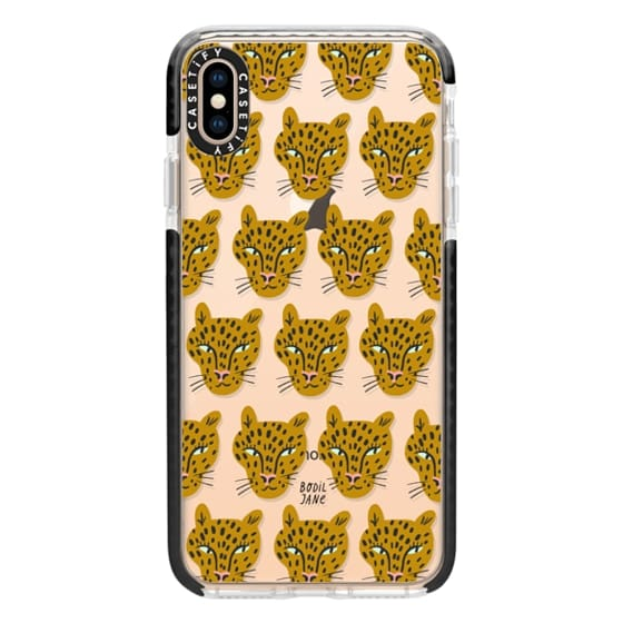iPhone XS Max Cases - LEOPARDS BY BODIL JANE