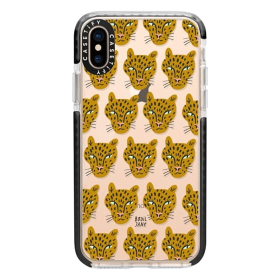 iPhone XS Cases - LEOPARDS BY BODIL JANE
