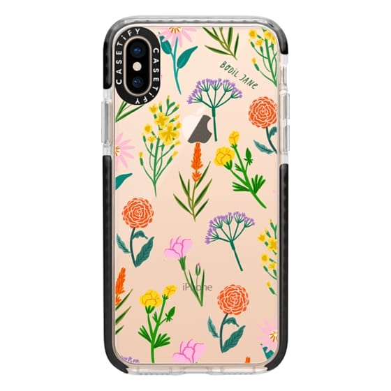 iPhone XS Cases - FLOWERS BY BODIL JANE