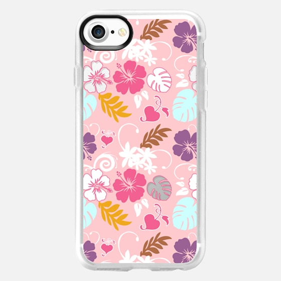 Hawaiian Spring Pattern - Wallet Case