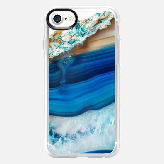 Blue Agate - Wallet Case