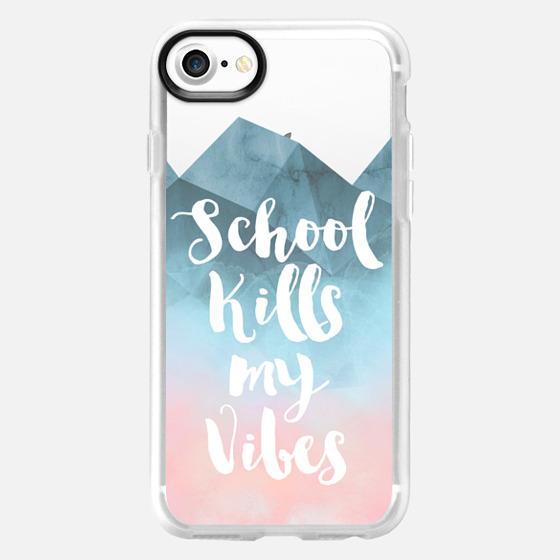 School Kills my Vibes - Wallet Case